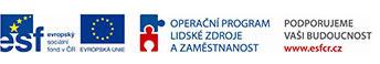 ESF, EU, Operační program lidské zdroje a zaměstnanost, Podporujeme vaší budoucnost www.esfcr.cz